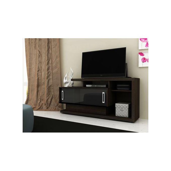 Tecno Mobili TV Rack For 50 Inch TV - Brown & Black