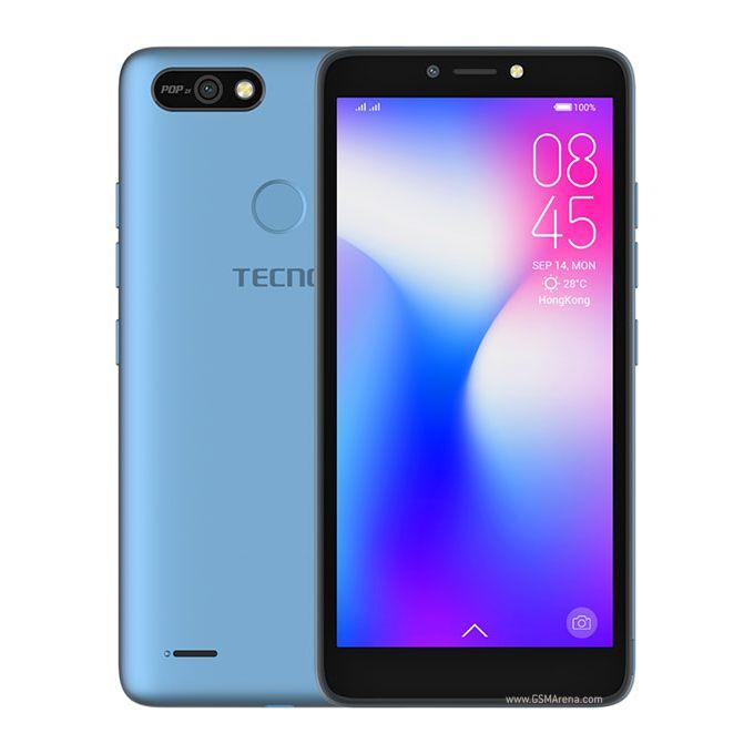 Tecno Pop 2F: 5.45 inch 16GB+1GB, 2400mAh Battery (Dual SIM) - BLUE