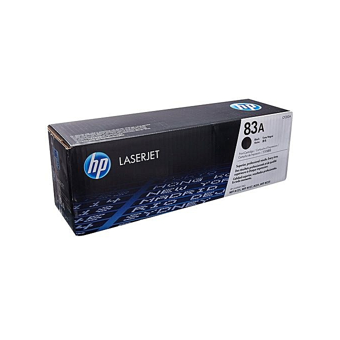 HP 83A Black Laser Jet Toner Cartridge