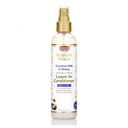 AFRICAN PRIDE Leave-In Conditioner With Coconut Milk & Honey-237ml.
