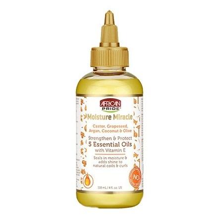AFRICAN PRIDE Moisture Miracle 5 Essential Oils