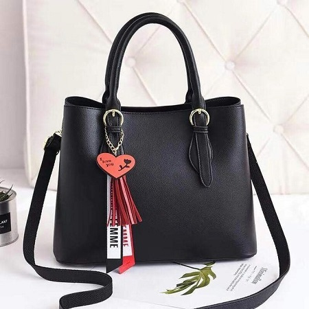 Fashion Black Ladies Handbag