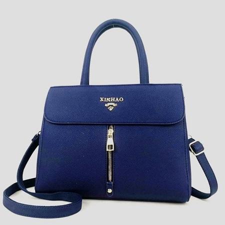 Fashion Blue Handbag