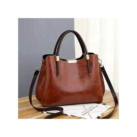 Fashion Brown Classy Handbag