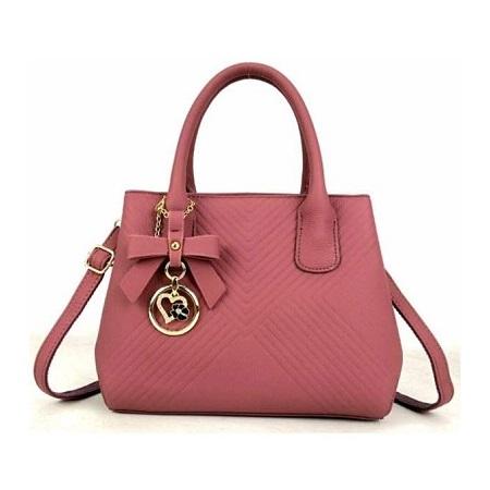Fashion Women Handbag - Pink
