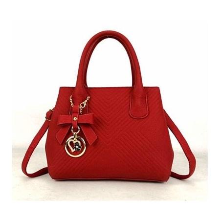 Fashion Women Handbag - Red