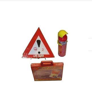 Bundle - Life Saver, Fire Extingusher + First Aid Kit
