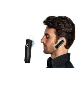 Earphone Bluetooth 4.0 Wireless Sports Headset - Rechargeable With Microphone