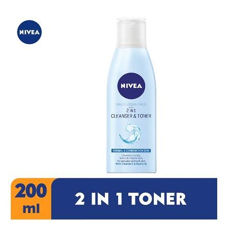 Nivea 2 In 1 Cleanser & Toner For Women - 200ml