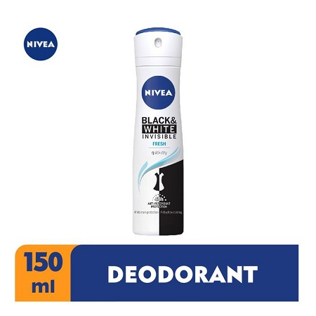 Nivea Black & White Invisible Fresh, 48h - 150ml