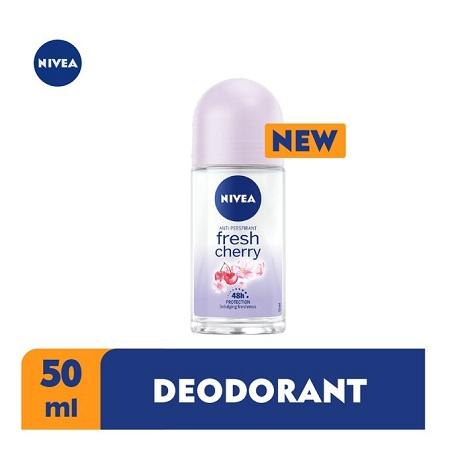 Nivea Fresh Cherry Anti-Perspirant Rollon For Women - 50ml