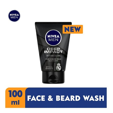 Nivea Men Deep Face & Beard Wash For Men - 100g