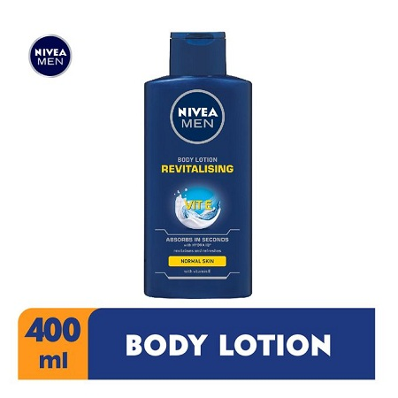 Nivea Men Revitalising Body Lotion For Men - 400ml