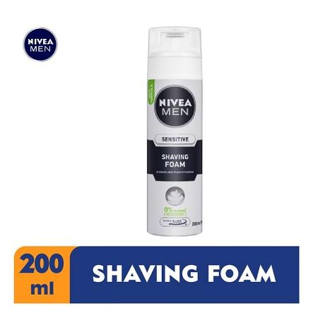 Nivea Men Sensitive Shaving Foam for Men - 200ml