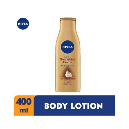 Nivea Nourishing Cocoa Body Lotion With Cocoa Butter For Women - 400ml