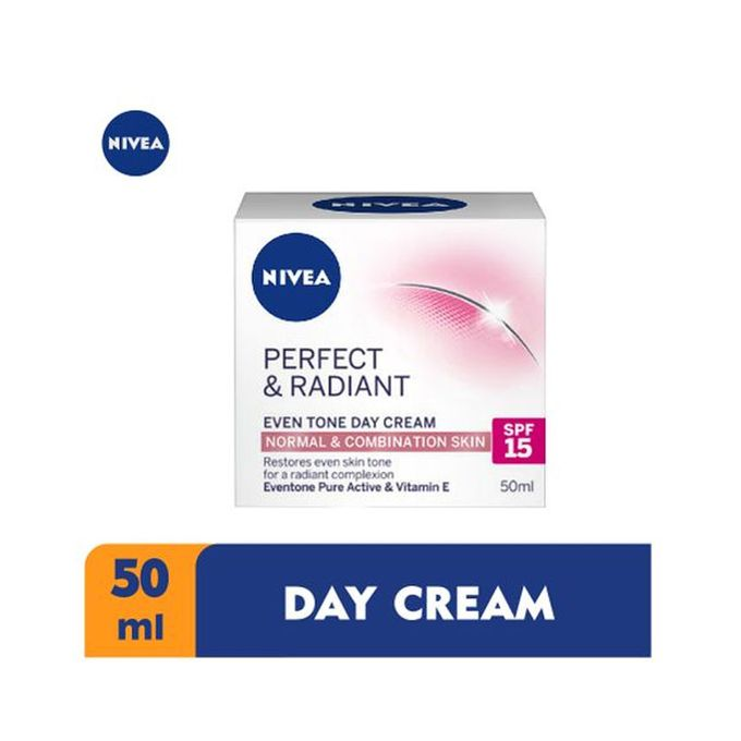 Nivea Perfect & Radiant Even Tone Day Cream SPF 15 for Women - 50ml