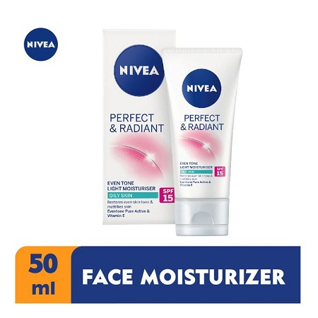 Nivea Perfect & Radiant Even Tone Light Moisturiser SPF 15 -50ml