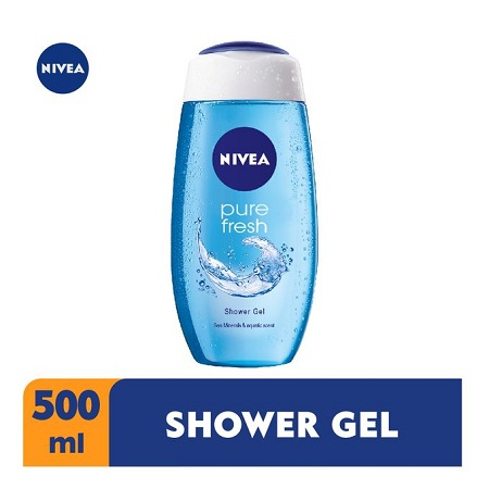 Nivea Pure Fresh Shower Gel For Women - 500ml