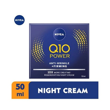 Nivea Q10 Power Anti-Wrinkle Night Cream for Women - 50ml