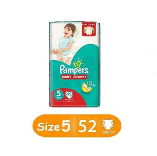 Pampers Baby Dry Diapers, Size 5, Jumbo Pack of 60