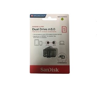 Sandisk 16GB OTG Dual Drive M3.0 Flashdisk