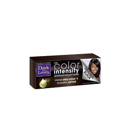 Dark And Lovely COLOR INTENSITY ANTI-DRYNESS PERMANENT COLOR - SUPER BLACK