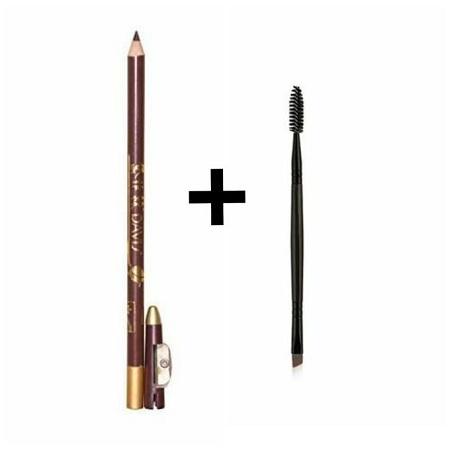 Davis Eye Pencil + 2 Sided Eye Brow Brush