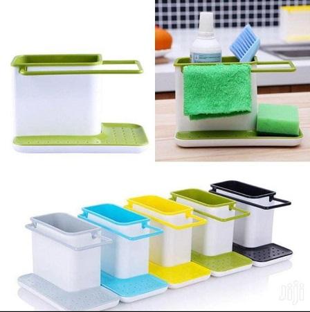 Soap and Sponge holder Sink Organizer