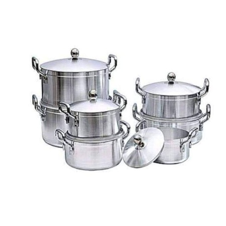 14pcs Heavy Aluminium Stainless Steel Cookware