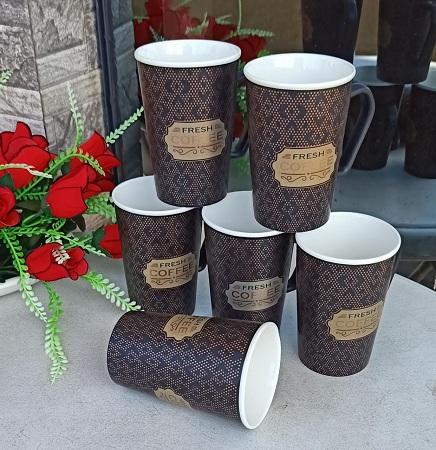 Customized Ceramic Mugs/Cups For Tea/Coffee-Set(6)