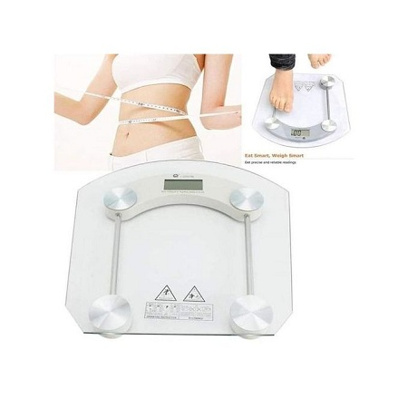 Sterling Tempered glass platform 180KG Digital LCD Electronic Bathroom Scale Glass Weighing Scale