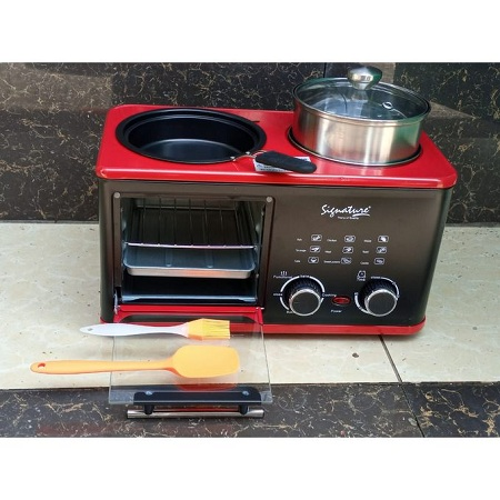 Signature Modern 4 In 1 Multi Function Breakfast Maker Machine