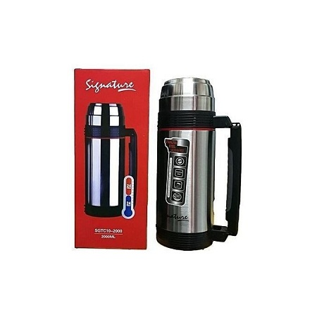 Signature Thermos Flask 2L Stainless Steel