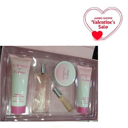 Carlotta De Evidense 5p Valentine Gift Set Women