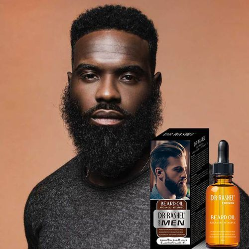 Dr. Rashel Beard Oil with Argan Oil and Vitamin E for Men - 50ml