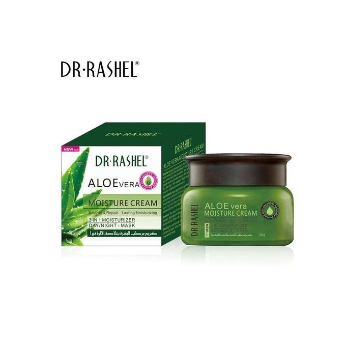 Dr. Rashel Aloe Vera Moisture Cream 3 in 1 Day Night Mask Moisturizer