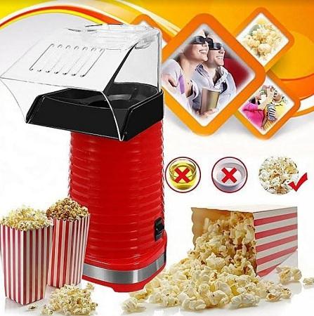 Hot Air Oil-Free Popcorn Maker Machine