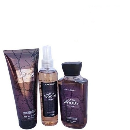 Dear Body Lost In Woods 3in1 Set Shower Gel,body Spash And Body Cream