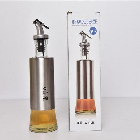 Oil Bottle Oil Dispenser Oil Glass
