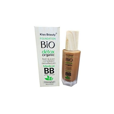Kiss Beauty Bio Detox Organic Foundation(shade 1)
