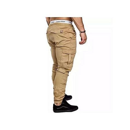 Fashion Men Cargo Pants Trousers