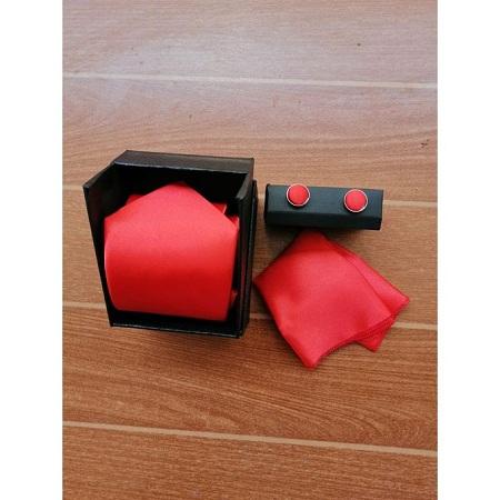 Fashion Men Tie (Tie, Culf Links, Pocket Square)