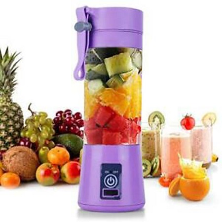 Portable Blender Juicer Cup / Electric Fruit Mixer / USB Juice Blender