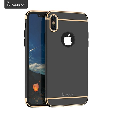 IPAKY 3 IN 1 Luxury Case For iPhone