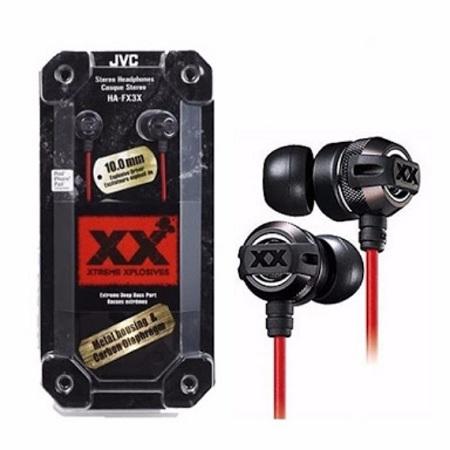 JVC EXTREME EXPLOSIVE EARPHONES