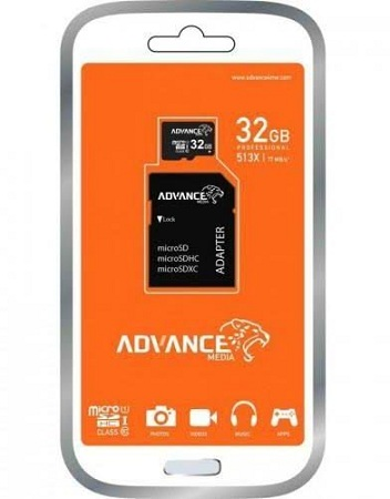 Advance 32GB men card plus card holder