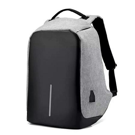 Anti theft bag - grey