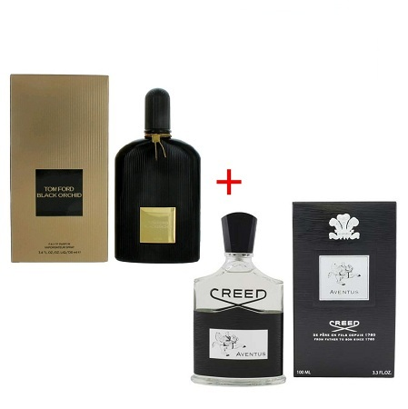 Black Orchid by Tom + Aventus Cologne by Creed 100ml