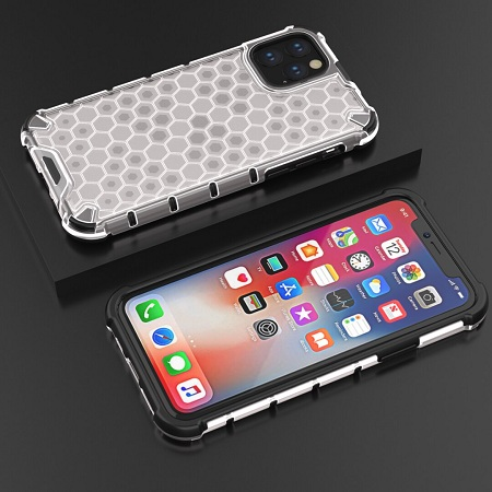Honeycomb Shockproof Case For iPhone