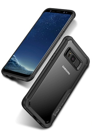 IPAKY Heavy Duty Shockproof Case For Samsung for S8/8 Plus